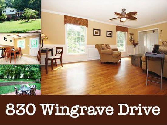 830 Wingrave Dr, Charlotte, NC 28270