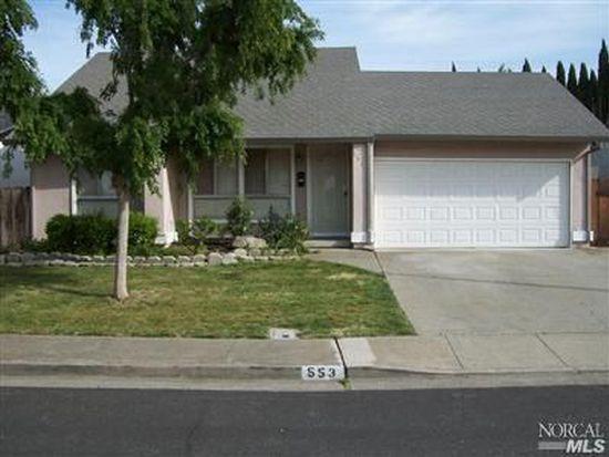 553 Berkeley Way, Fairfield, CA 94533