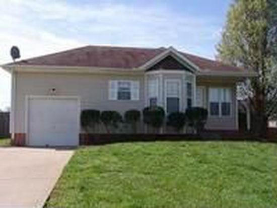 3206 S Senseney Cir, Clarksville, TN 37042