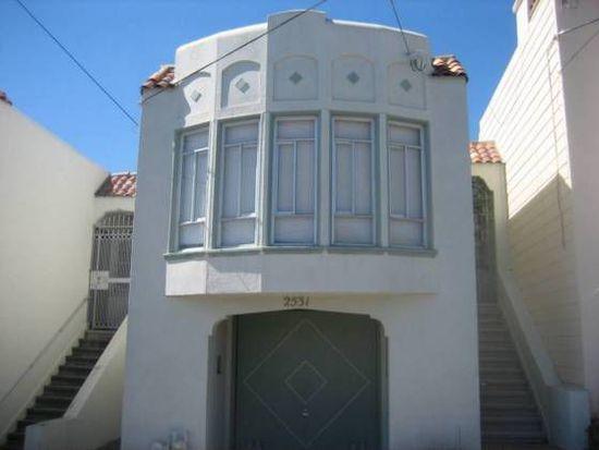 2531 29th Ave, San Francisco, CA 94116