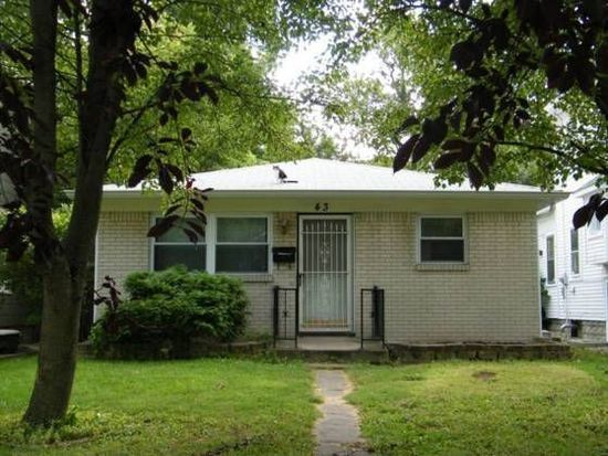 43 S Spencer Ave, Indianapolis, IN 46219