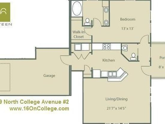 1619 N College Ave APT 3, Indianapolis, IN 46202
