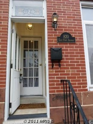 820 E Fort Ave, Baltimore, MD 21230