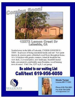 12272 Lemon Crest Dr, Lakeside, CA 92040