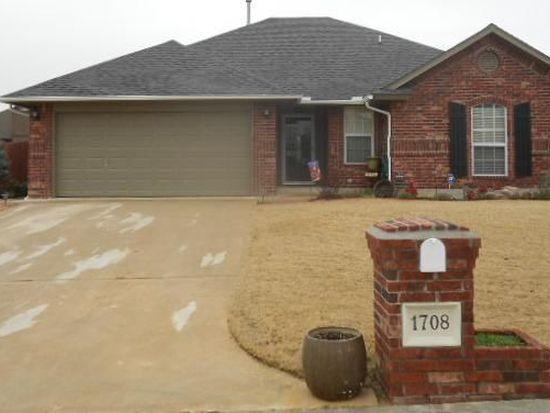 1708 Cherokee Trl, Choctaw, OK 73020