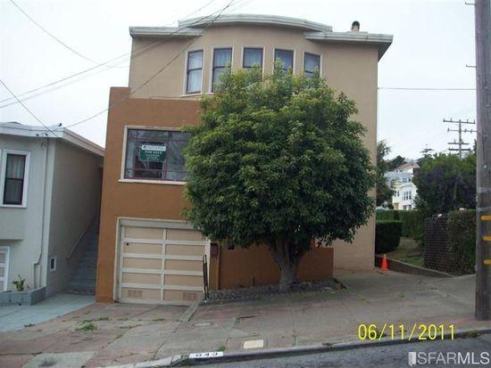 643 Edna St, San Francisco, CA 94127