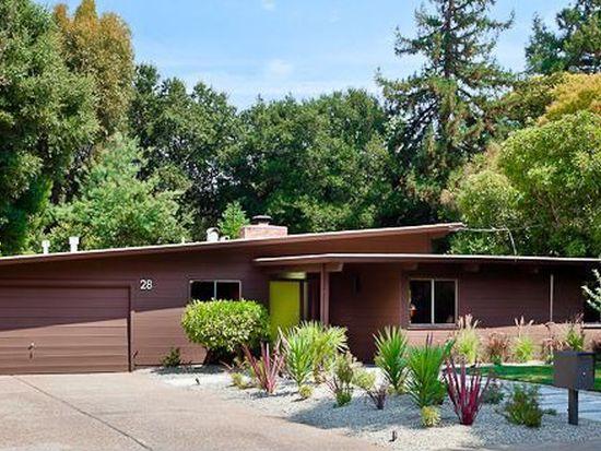 28 Aliso Way, Menlo Park, CA 94028
