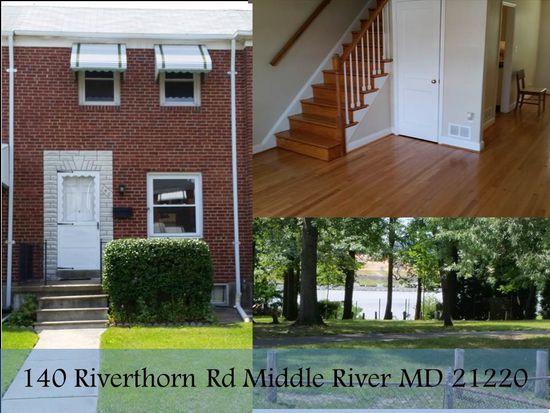 140 Riverthorn Rd, Baltimore, MD 21220