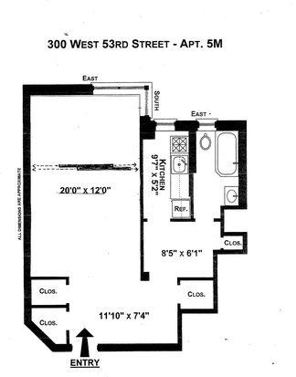 300 W 53rd St APT 5M, New York, NY 10019