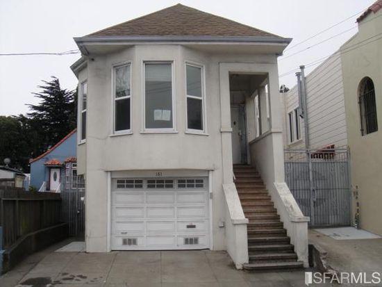161 Sagamore St, San Francisco, CA 94112