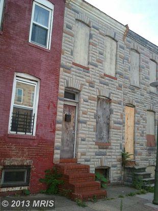 1612 N Bradford St, Baltimore, MD 21213