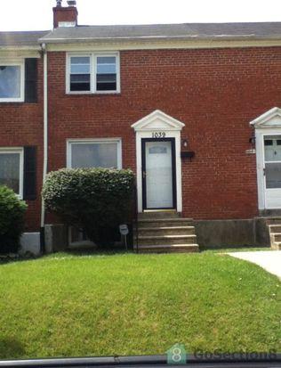 1039 Cameron Rd, Baltimore, MD 21212