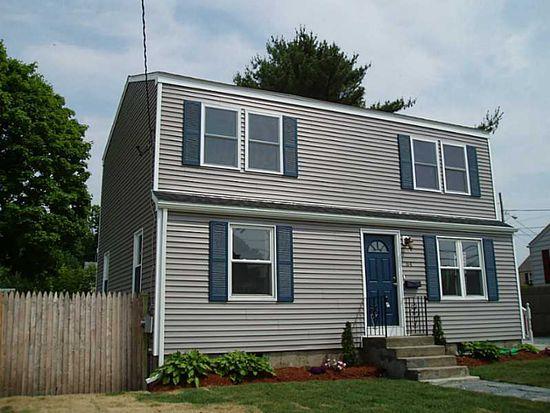 64 Sterling St, East Providence, RI 02914
