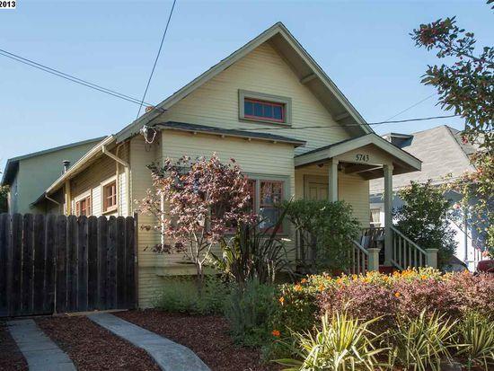 5743 Hermann St, Oakland, CA 94609