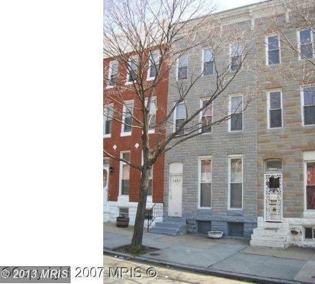 1807 N Broadway, Baltimore, MD 21213