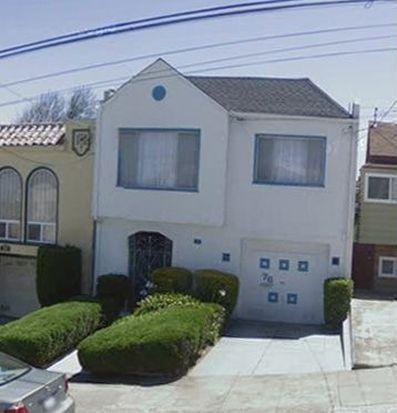 76 Miramar Ave, San Francisco, CA 94112