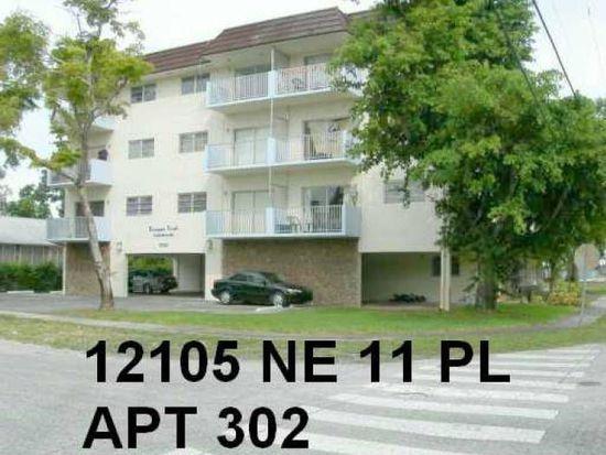12105 NE 11th Pl APT 302, North Miami, FL 33161