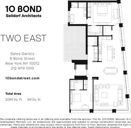 10 Bond St # 2E, New York, NY 10012