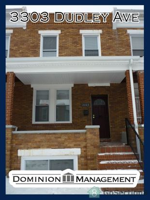 3303 Dudley Ave, Baltimore, MD 21213