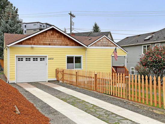 4970 Lewis Pl SW, Seattle, WA 98116