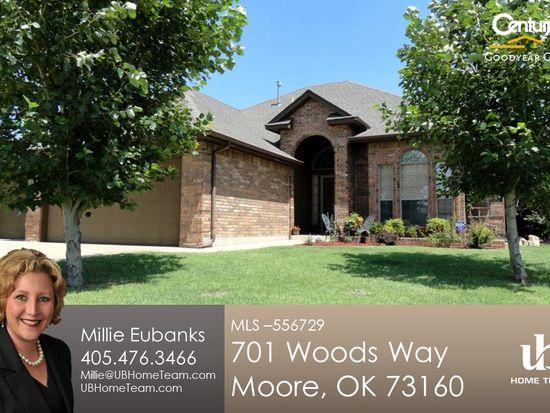 701 Woods Way, Moore, OK 73160