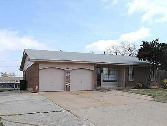 3812 Rosewood Ct, Midwest City, OK 73110