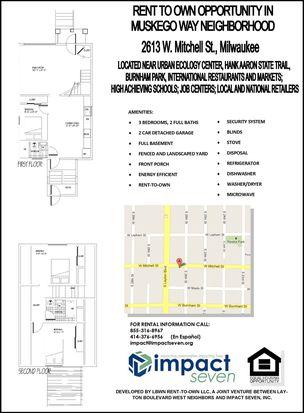 2613 W Mitchell St, Milwaukee, WI 53204