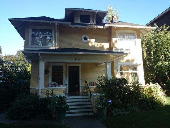 5806 16th Ave NE, Seattle, WA 98105