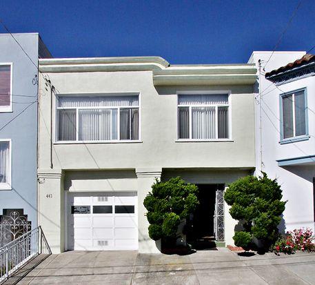 443 42nd Ave, San Francisco, CA 94121