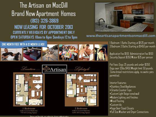 5100 S Macdill Ave UNIT 217, Tampa, FL 33611