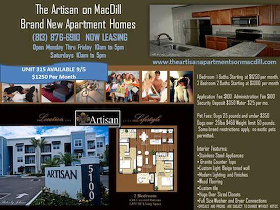 5100 S Macdill Ave UNIT 314, Tampa, FL 33611