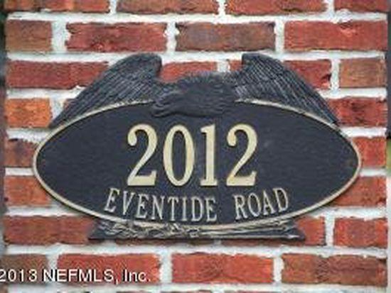 2012 Eventide Ave, Jacksonville, FL 32259