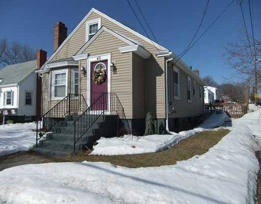45 Chestnut Hill Ave, Cranston, RI 02920