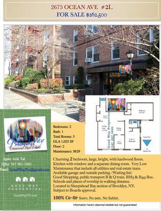 2675 Ocean Ave APT 2L, Brooklyn, NY 11229