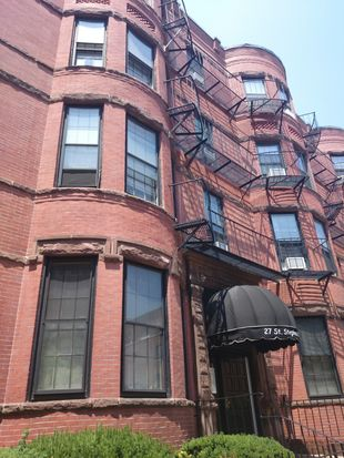 27 Saint Stephen St APT 9, Boston, MA 02115