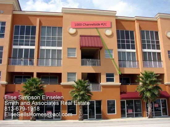 1002 Channelside Dr # 2C, Tampa, FL 33602