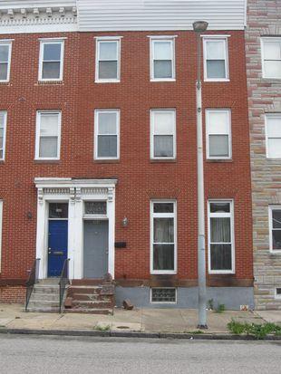 307 N Gilmor St, Baltimore, MD 21223