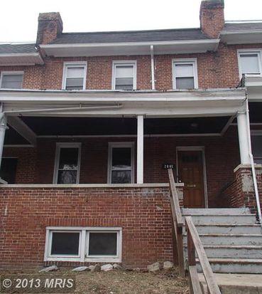 2008 N Bentalou St, Baltimore, MD 21216