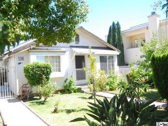 536 E Cedar Ave, Burbank, CA 91501