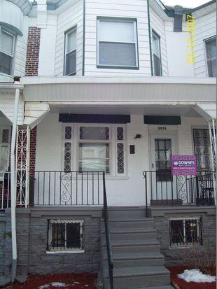 5836 Webster St, Philadelphia, PA 19143