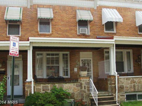 4417 Kavon Ave, Baltimore, MD 21206