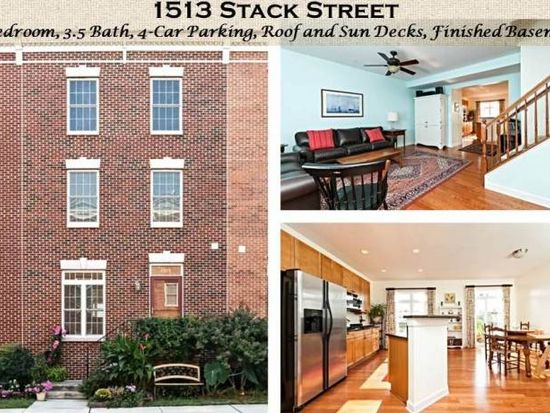 1513 Stack St, Baltimore, MD 21230