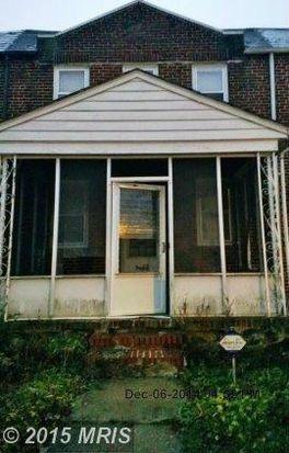 3851 Boarman Ave, Baltimore, MD 21215