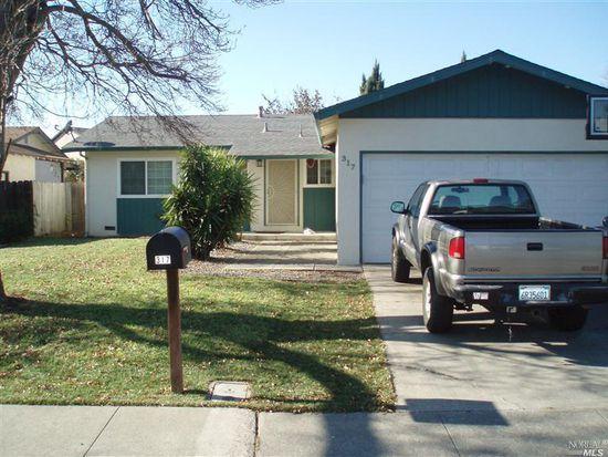 317 Serrano Ct, Fairfield, CA 94533