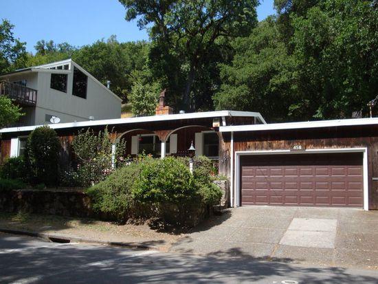 458 Cascade Dr, Fairfax, CA 94930