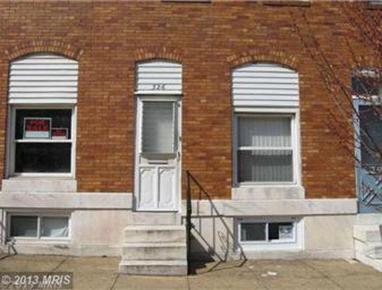 326 S Newkirk St, Baltimore, MD 21224