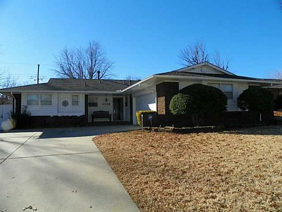 1112 Sunvalley Dr, Midwest City, OK 73110