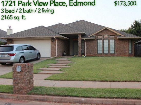 1721 Park View Pl, Edmond, OK 73003