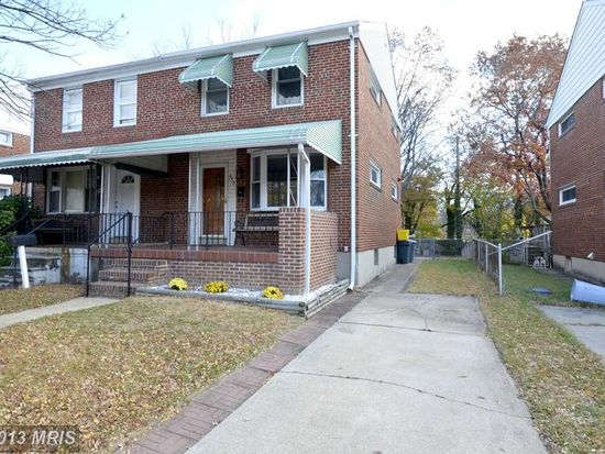 6413 Hilltop Ave, Baltimore, MD 21206