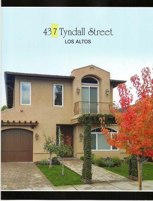 437 Tyndall St, Los Altos, CA 94022